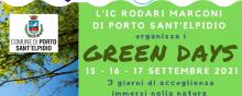 GREEN DAYS 15-16-17 Settembre 2021